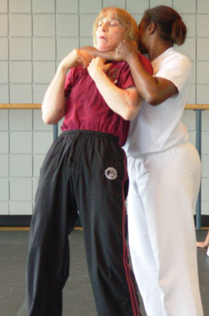 Become a certified self defense instructor